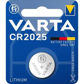 Knopfzelle Kleingerätebatterie 3V 170mAh Varta CR2025 Produktbild