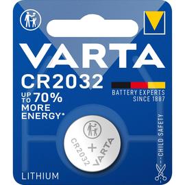 Knopfzelle Kleingerätebatterie 3V 230mAh Varta CR2032 Produktbild