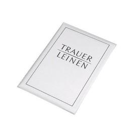 Kartenmappe Trauerleinen 17180/0 (PACK= JE 5 STÜCK) Produktbild