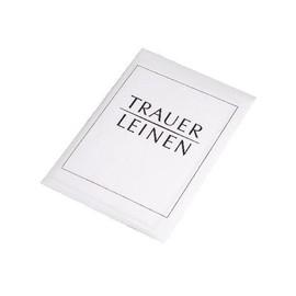 Briefmappe Trauerleinen 17080/0 (PACK= 5 KARTEN + 5 KUVERT) Produktbild