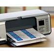 Visitenkarten Inkjet+Laser+Kopier A4 85x54mm 185g weiß beidseitig bedruckbar Microperforation Zweckform C32010-10 (PACK=100 STÜCK) Produktbild Additional View 4 S