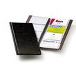 Visitenkartenalbum Visifix 96 115x253mm für 96Karten schwarz Durable 2380-01 Produktbild