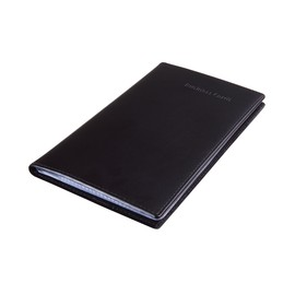 Visitenkartenmappe Lederoptik für 120Karten schwarz Kunststoff Sigel VZ171 Produktbild