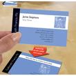 Visitenkarten Inkjet 85x54mm auf A4 Bögen 260g weiß matt beidseitig bedruck- bar glatte Kanten Zweckform C32015-25 (PACK=200 STÜCK) Produktbild Additional View 3 S