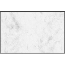 Visitenkarten Inkjet+Laser+Kopier 85x55mm 225g marmor grau glatte Kanten Sigel DP742 (PACK=100 STÜCK) Produktbild