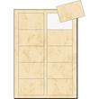 Visitenkarten Inkjet+Laser+Kopier 85x55mm 225g marmor beige glatte Kanten Sigel DP744 (PACK=100 STÜCK) Produktbild Additional View 2 S