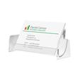 Visitenkarten-Aufsteller mit 1 Fach 97x85mm für 50Karten glasklar Hartplastik Sigel VA120 Produktbild Additional View 1 S