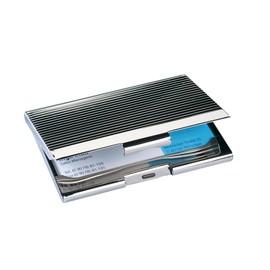 Visitenkarten-Etui Karten bis Gr. 90x56mm chrom Sigel VZ130 Produktbild