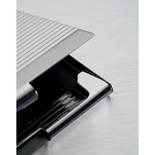 Visitenkarten-Etui Karten bis Gr. 90x56mm chrom Sigel VZ130 Produktbild Additional View 3 L
