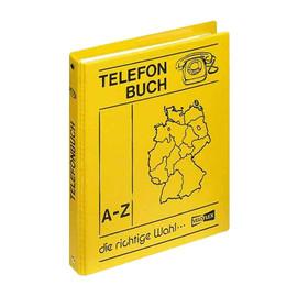 Telefonringbuch A5 4Ringe gelb PP Veloflex 5158000 Produktbild