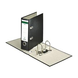 Ordner A5 hoch 70mm schwarz Pappe Centra 220206 Produktbild