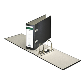 Ordner A5 quer 77mm schwarz Pappe Centra 220307 Produktbild