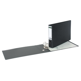 Ordner A3 quer 77mm schwarz Pappe Leitz 1073-00-00 Produktbild