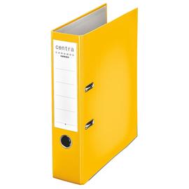 Ordner Chromos A4 80mm gelb Kunststoff Centra 230133 Produktbild
