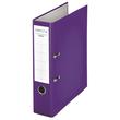 Ordner Chromos A4 80mm violett Kunststoff Centra 230140 Produktbild