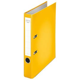Ordner Chromos A4 50mm gelb Kunststoff Centra 231133 Produktbild