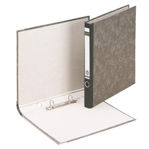 Ordner 1040 mit Reißmechanik A4 35mm schwarz Pappe Leitz 1040-00-00 Produktbild Front View L