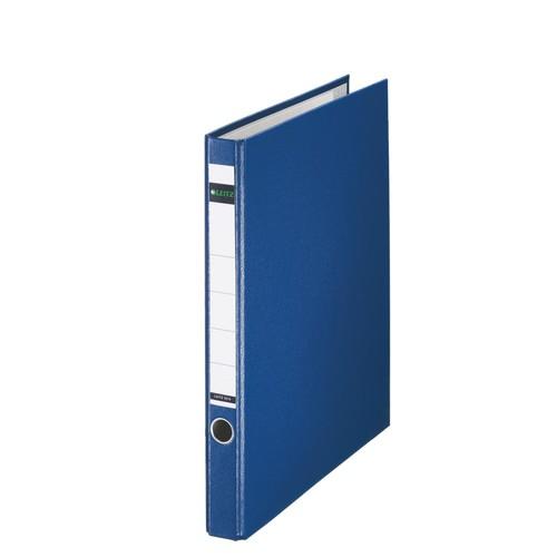 Ordner 1014 mit Reißmechanik A4 35mm blau Kunststoff Leitz 1014-00-35 Produktbild Front View L