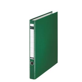 Ordner 1014 mit Reißmechanik A4 35mm grün Kunststoff Leitz 1014-00-55 Produktbild