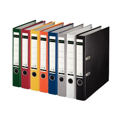 Ordner 1015 A4 50mm grau Kunststoff Leitz 1015-50-85 Produktbild Additional View 1 L