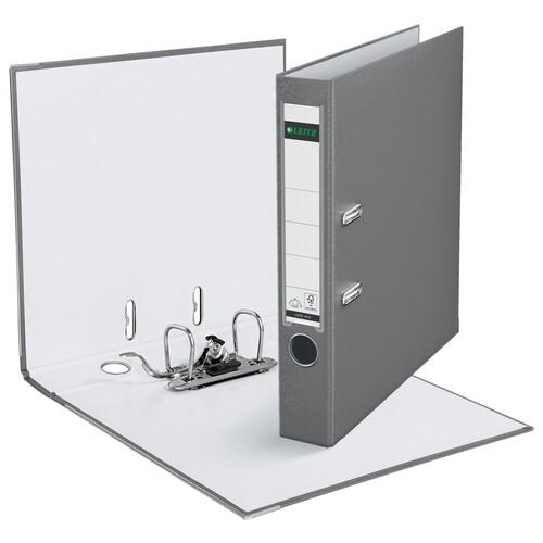 Ordner 1015 A4 50mm grau Kunststoff Leitz 1015-50-85 Produktbild