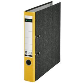 Ordner 1050 A4 50mm gelb Pappe Leitz 1050-50-15 Produktbild