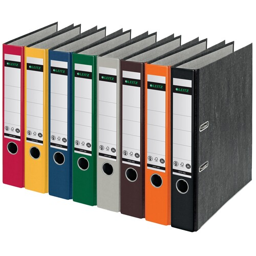 Ordner 1050 A4 50mm grau Pappe Leitz 1050-50-85 Produktbild Additional View 1 L