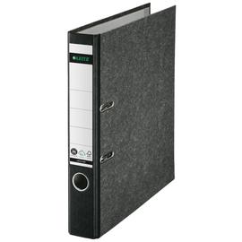 Ordner 1050 A4 50mm schwarz Pappe Leitz 1050-50-95 Produktbild