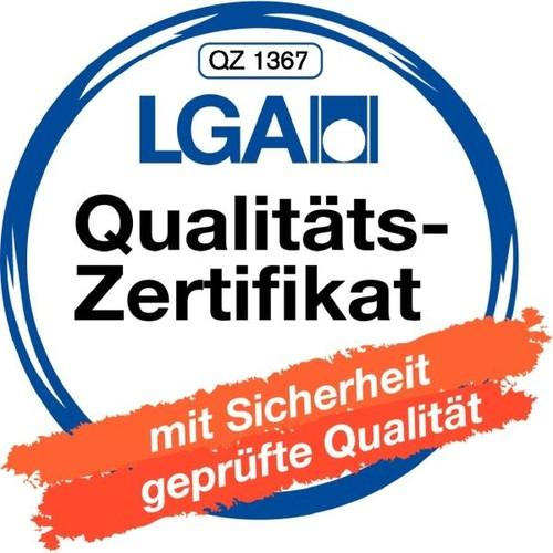 Ordner Standard A4 50mm schwarz Pappe Centra 221105 Produktbild Additional View 1 L