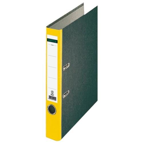 Ordner Standard A4 50mm gelb Pappe Centra 221120 Produktbild