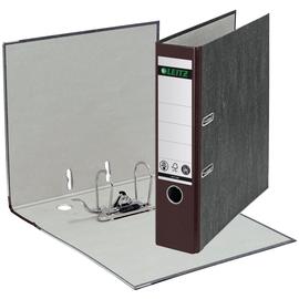 Ordner 1080 A4 80mm braun Pappe Leitz 1080-50-75 Produktbild