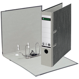 Ordner 1080 A4 80mm grau Pappe Leitz 1080-50-85 Produktbild