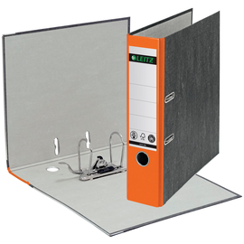 Ordner 1080 A4 80mm orange Pappe Leitz 1080-50-45 Produktbild