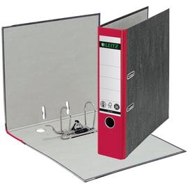 Ordner 1080 A4 80mm rot Pappe Leitz 1080-50-25 Produktbild