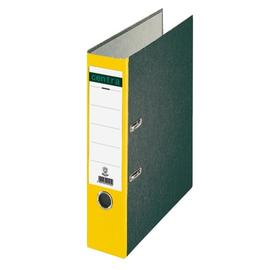 Ordner Standard A4 80mm gelb Pappe Centra 220120 Produktbild