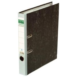 Ordner Rado A4 50mm grau Pappe Elba 100022597 Produktbild