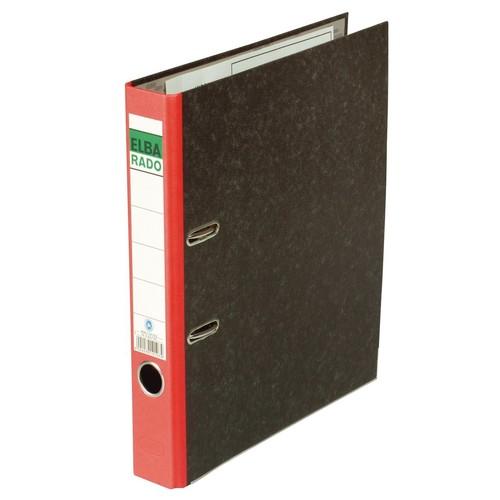 Ordner Rado A4 50mm rot Pappe Elba 100555310 Produktbild