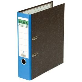 Ordner Rado A4 80mm blau Pappe Elba 100555312 Produktbild