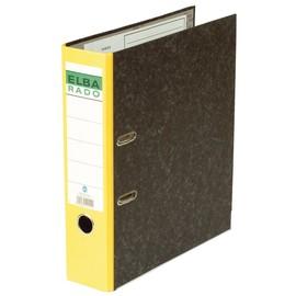 Ordner Rado A4 50mm gelb Papppe Elba 100022600 Produktbild