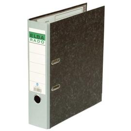 Ordner Rado A4 80mm grau Pappe Elba 100022602 Produktbild