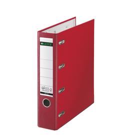 Doppelordner 1012 A4 für 2x A5 quer 80mm rot Kunststoff Leitz 1012-00-25 Produktbild