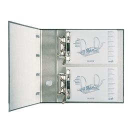Doppelordner 1092 A4 für 2x A5 quer 80mm schwarz Pappe Leitz 1092-00-00 Produktbild