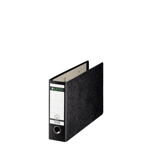 Ordner A4 quer 77mm schwarz Pappe Leitz 1074-00-00 Produktbild