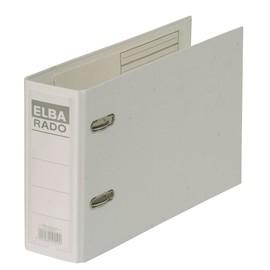 Ordner Rado Plast A5 quer 80mm weiß Kunststoff Elba 100022639 Produktbild