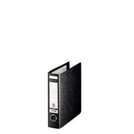 Ordner A5 hoch 56mm schwarz Pappe Leitz 1065-00-00 Produktbild