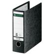 Ordner A5 hoch 77mm schwarz Pappe Leitz 1075-00-00 Produktbild