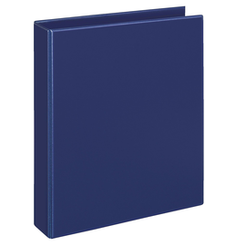 Ringbuch Comfort mit Sichttasche A4 Überbreite 2Ringe Ringe-Ø25mm dunkelblau PVC-Folie Veloflex 1149050 Produktbild