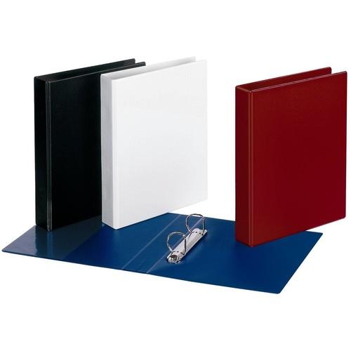 Ringbuch Comfort mit Sichttasche A4 Überbreite 2Ringe Ringe-Ø25mm schwarz PVC-Folie Veloflex 1149080 Produktbild Additional View 1 L