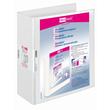 Präsentationsringbuch Velodur mit Sichttaschen A4 Überbreite 4Ringe Ringe-Ø60mm weiß PP Veloflex 4142190 Produktbild