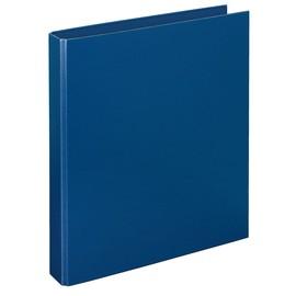 Ringbuch Basic A4 4Ringe Ringe-Ø40mm blau PP Veloflex 4141050 Produktbild